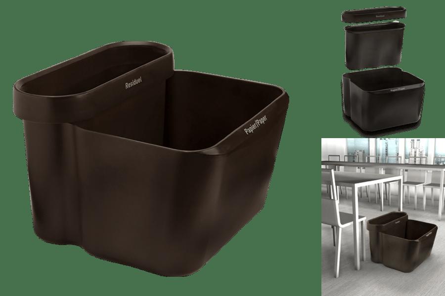 Design d veloppement durable - Poubelle de bureau design ...
